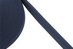 Knited bias tapes - navy blue