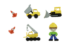 Decorative buttons - excavators