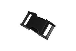 Metal buckle - black - 20 mm