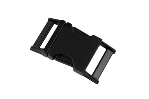 Metal buckle - black - 25 mm