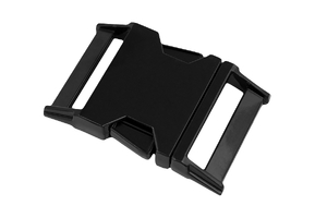 Metal buckle - black - 30 mm