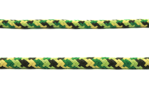 Cotton rope 12 mm - MULTI - green yellow