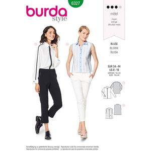 Burda - Pattern for a shirt - 6327
