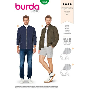 Burda - Pattern for a men's jacket - 6351