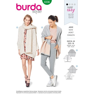 Burda - Pattern for cardigan - 6336