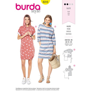 Burda - Pattern for a dress - 6310