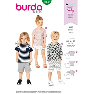 Burda - Pattern for a shirt - 9322