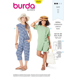 Burda - Pattern for overalls  - 9325