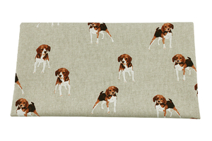 Beagle dogs - home decor fabric