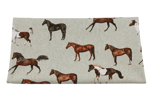 Horses - home decor fabric