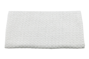 Jacquard fabric - white