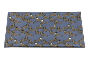 PUL Animal Collection - Walruses - blue