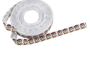 Grosgrain ribbon 15 mm - Christmas bears