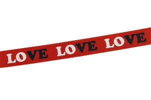 Elastic Bands 30 mm - Love - red