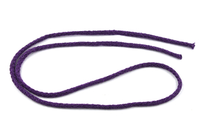 Cotton cord - dark violet