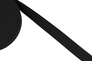 Knitted elastic 30mm black