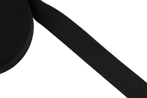 Knitted elastic 50mm black