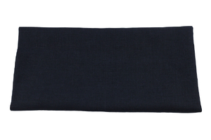 Linen fabric - dark navy blue