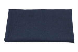 Linen fabric - light navy blue