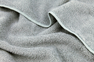 Terry bamboo fabric - gray