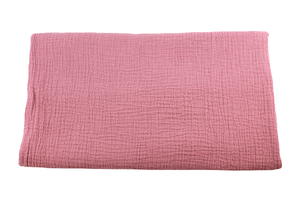 Double Gaze Cotton - dark pink