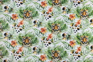 Fabric for picnic mats - tiger
