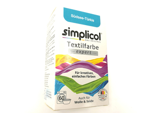 Simplicol EXPERT - fabric paint - color: turquoise