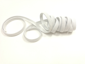 Knitted elastic 5mm white