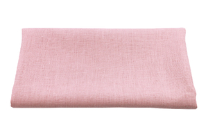 Linen fabric - dirty pink