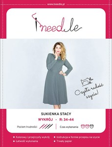 Pattern iNEEDle - dress Stacy - size 34-44