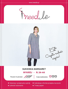 Pattern iNEEDle - dress Margaret - size 34-44
