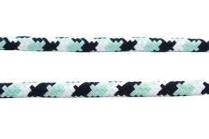 Cotton rope 12 mm - MULTI - mint white