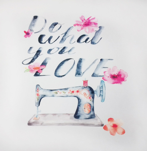 Panel Do What You Love - tk. home decor