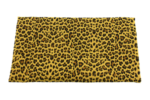 Double Gaze Cotton - panther - mustard