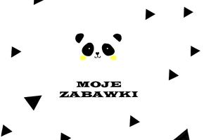 Panel for a toy basket - Moje zabawki