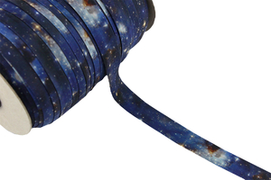 Elastic knited biast tape - Galaxy