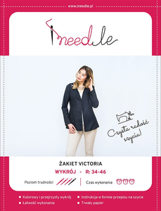 Pattern iNEEDle - jacket Victioria- size 34-46