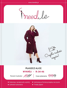 Pattern iNEEDle - coat Alice - size 34-46