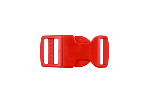 Buckle - red - 20mm