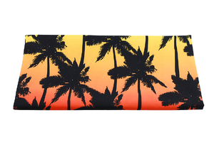 Fabric for swimming shorts - tropical palms