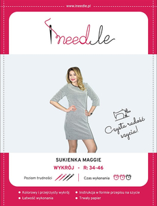 Pattern iNEEDle - dress Maggie - size 34-46