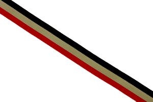 Stripes - black-beige-red
