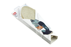 Sole for espadrilles - size 37