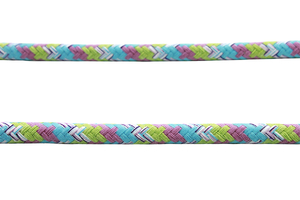 Cotton rope 12 mm - MULTI - turquoise pink