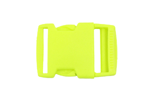 Buckle - fluo yellow - 30mm