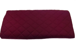 Quilted sweatshirt - burgundy