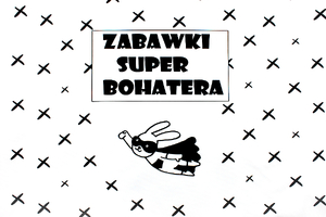 Panel for a toy basket - Zabawki super bohatera