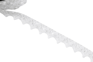 Cotton lace - white - 15 mm
