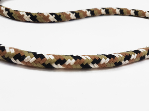 Cotton rope 12 mm - MULTI - brown camo