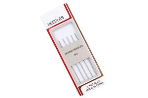 Needles for manual sewing 6/0